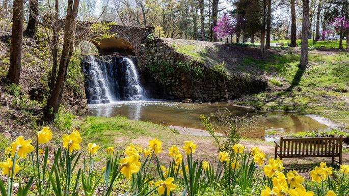 Reynolda Gardens in Winston-Salem.