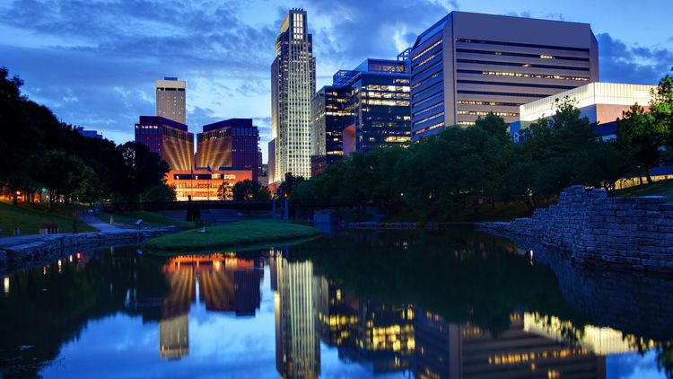 Omaha is home to many Fortune 500 companies.