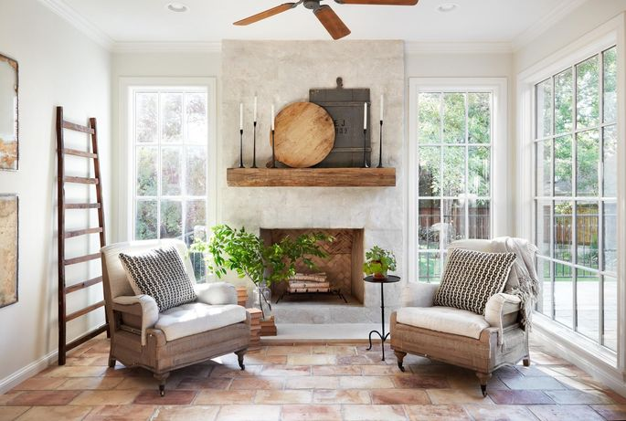 This Sunroom Is New But Chip And Joanna Gaines Use Clever Design Tricks To Make
