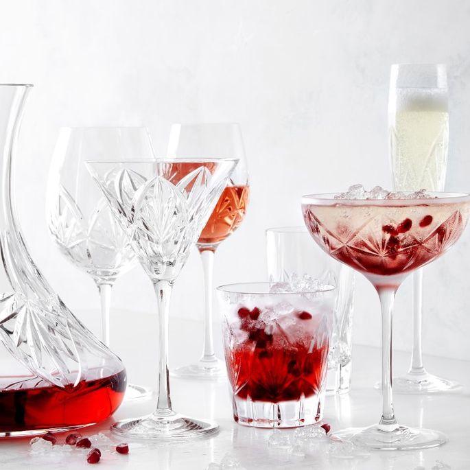 Fiore coupe glasses
