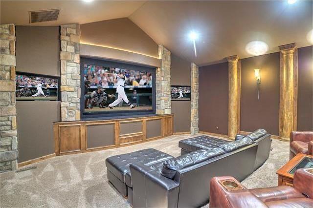 rockies legend todd helton selling colorado mansion. Black Bedroom Furniture Sets. Home Design Ideas