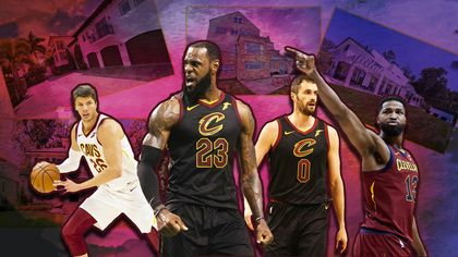 NBA Cribs: Where the Stars of the Cleveland Cavaliers Call Home