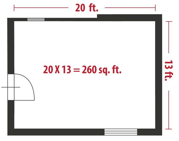 How To Calculate Square Feet For A Home