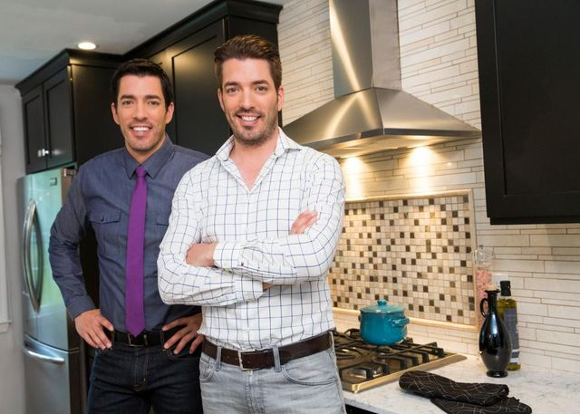 Property bros in kitchen