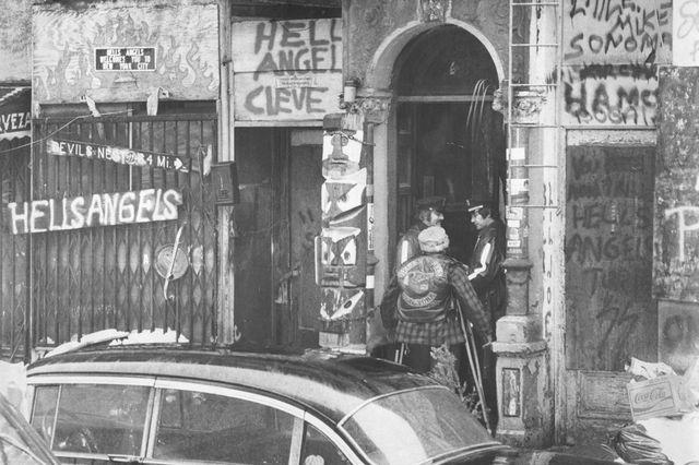 Hells Angels headquarters in 1978
