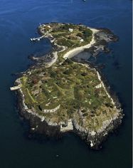 Maine's House Island, Site Of Historic 19th Century Fort, Immigration Center, Listed (PHOTOS)