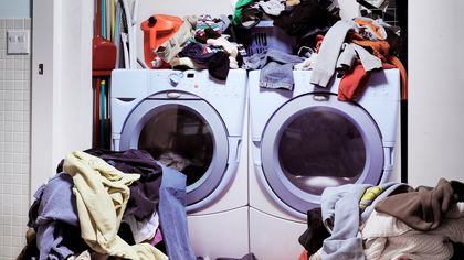 6 Space-Saving Secrets to Save Your Laundry Room (and Your Sanity)