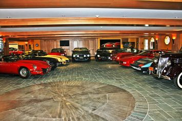22-Car Garage Comes With $13.9M House in Lake Arrowhead, CA
