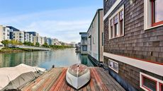 Rare Floating Home in San Francisco Sails Onto the Market for $1.8M