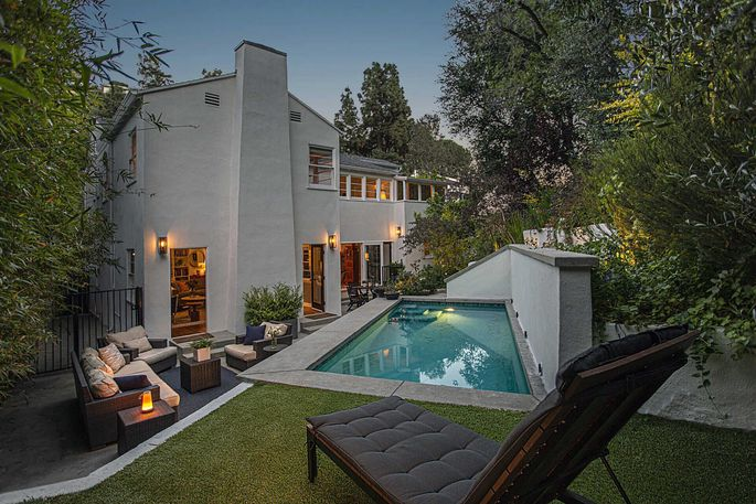 Burt Lancaster's former home in Los Angeles' Beachwood Canyon