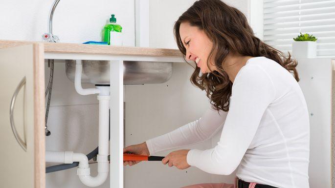 unclog-sink