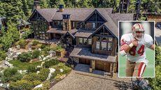 San Francisco 49er Legend Brent Jones Selling $10.9M Tahoe Retreat