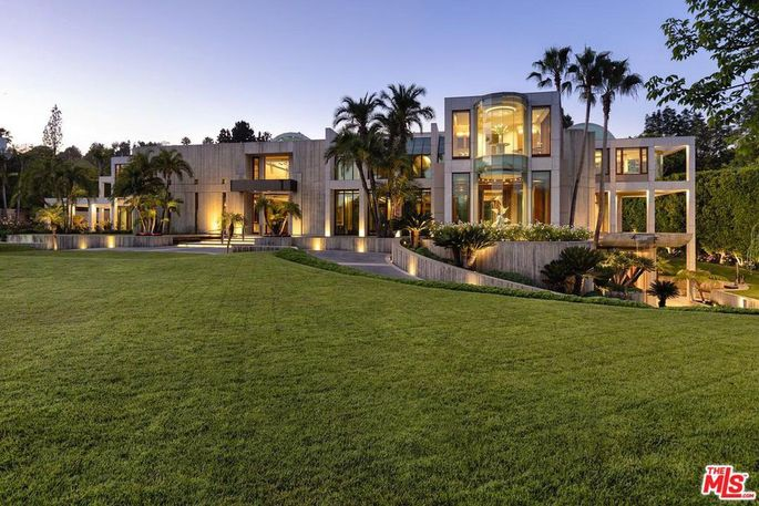 Beverly Hills megamansion