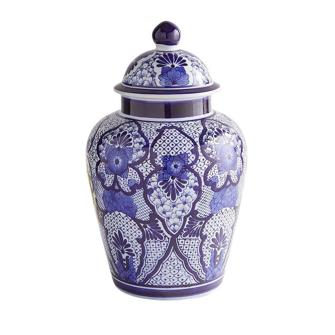 These jars are patterned on originals that once carried salt, rice, and spices.