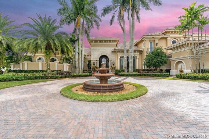 Frank Gore's home in Southwest Ranches, FL