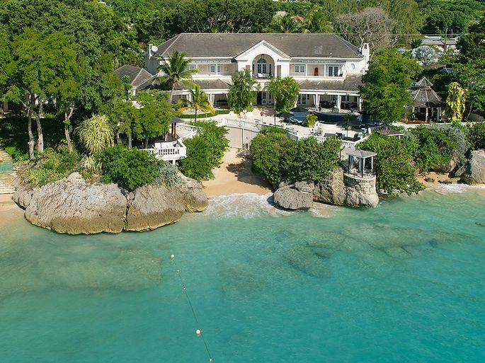 The Caribbean villa where Prince Harry stayed