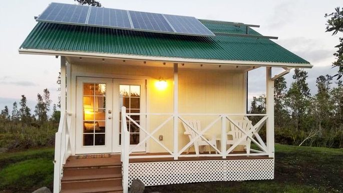 An off the grid tiny home in hawaii for a cool 100k for Small house plans hawaii