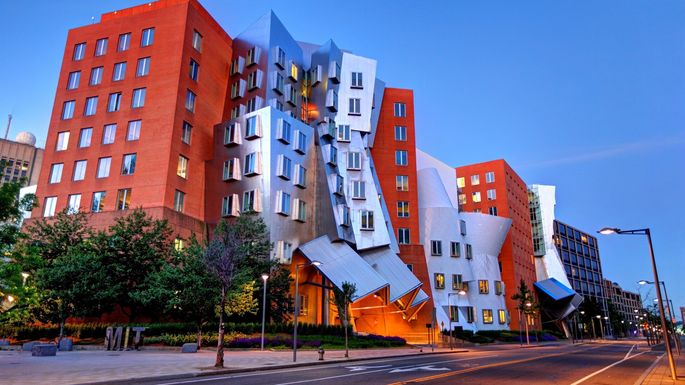 MIT's Ray and Maria Stata Center in Cambridge