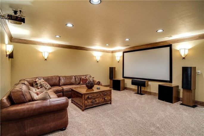 Home theater/media room