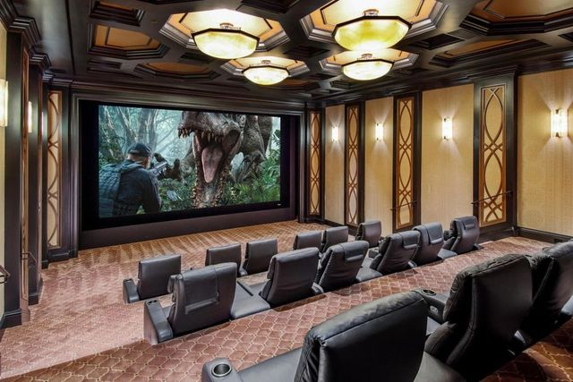 State fo the art home theater