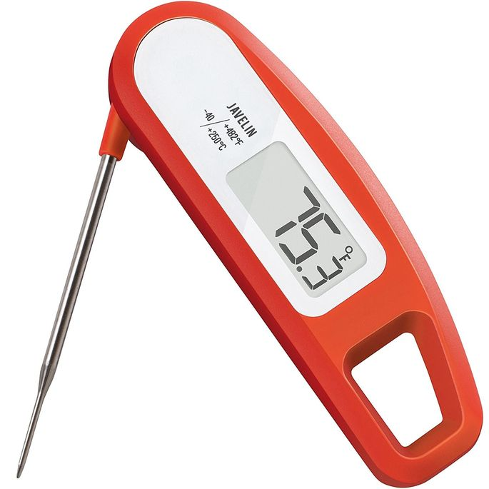 The Lavatools meat thermometer keeps overcooked turkey at bay.