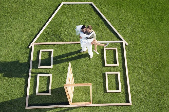 Getting Married Try A Down Payment Wedding Registry Realtor Com