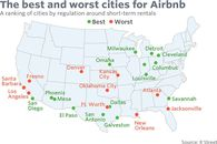 These Are the Best and Worst Cities for Airbnb