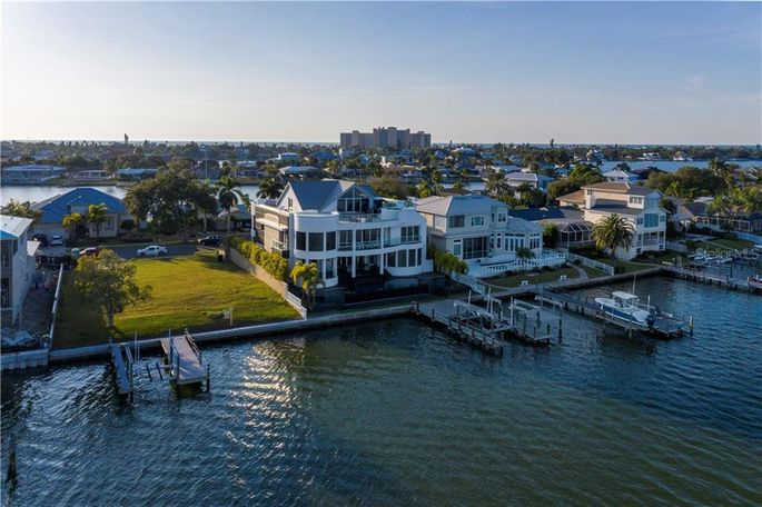 Tom Brady's reported new home in Clearwater, FL