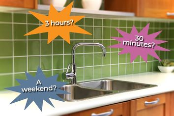 10 Practical Kitchen Improvement Projects Based on How Much Time You Have