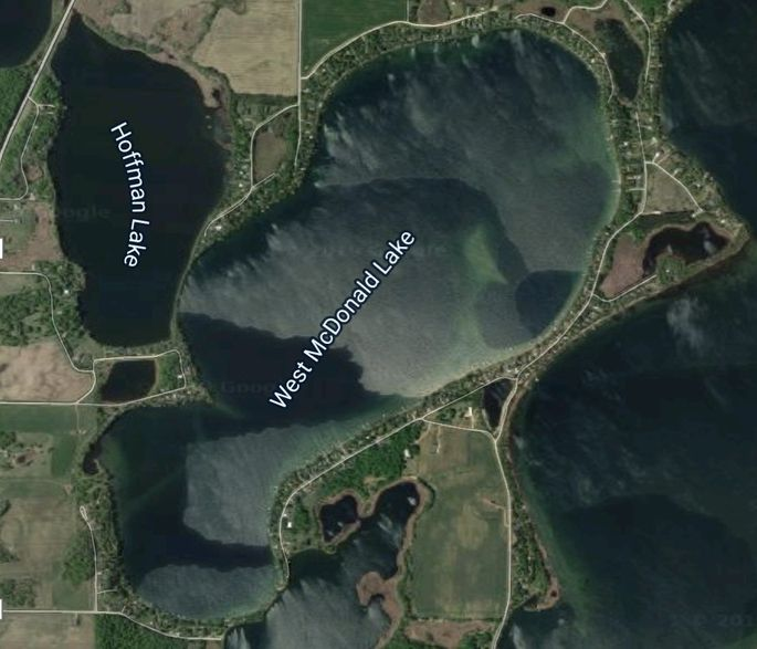 Will these two lakes remain separate for life?
