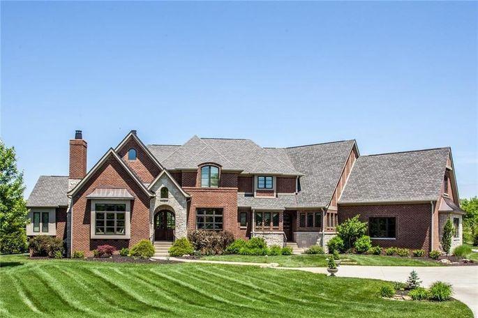 Chuck Pagano's Indiana home