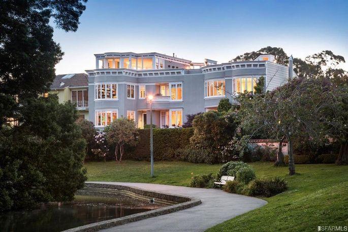 Peter Thiel sold his San Francisco home