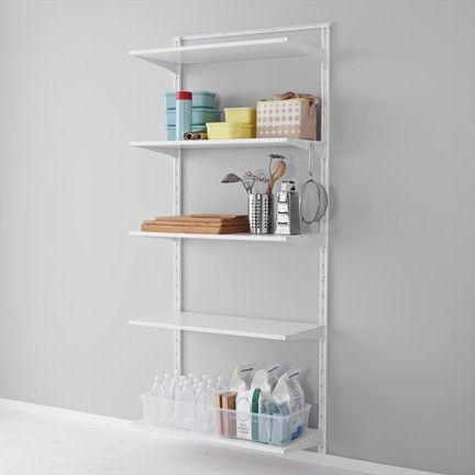 Ikea's ALGOT closet system