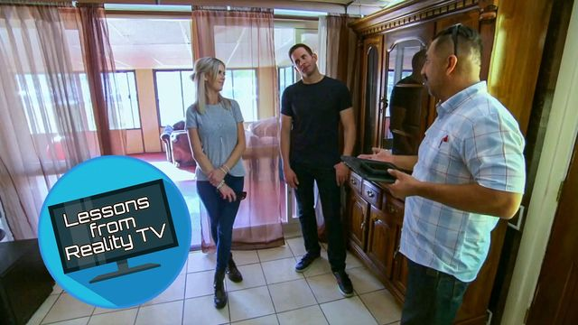 Watch Tarek and Christina Flip a House by a Famous Architect (Guess Who?)