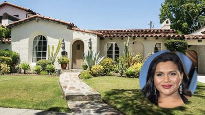 Actress Mindy Kaling Sells Another Charming Home in Los Angeles