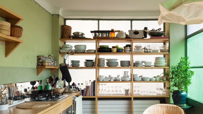 Open Kitchen Shelving: Do You Dare Bare The Chaos Within?