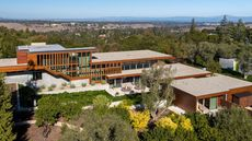 $33M Custom-Built Mansion in Portola Valley, CA, Is a 'Livable Work of Art'
