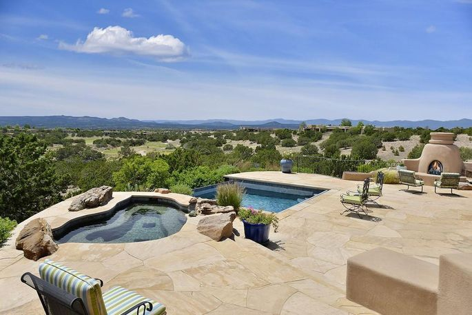 A home for sale in Santa Fe, NM