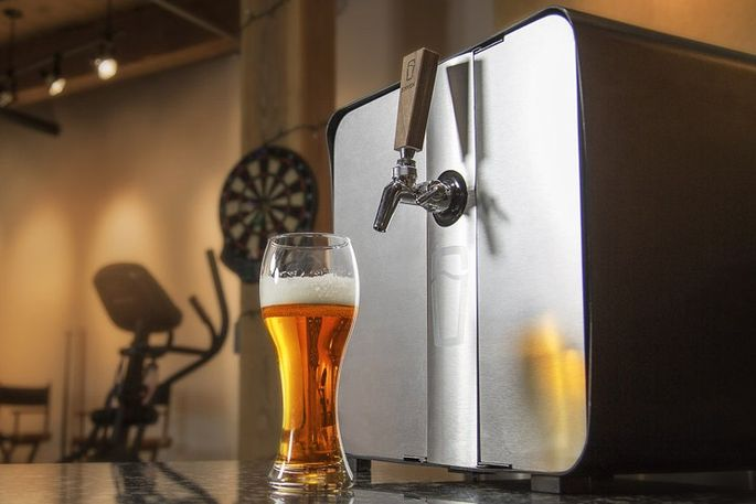 Synek, a single-gallon countertop draft system