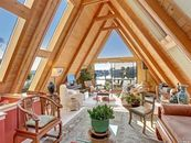 'Temple of Light' Houseboat in Sausalito