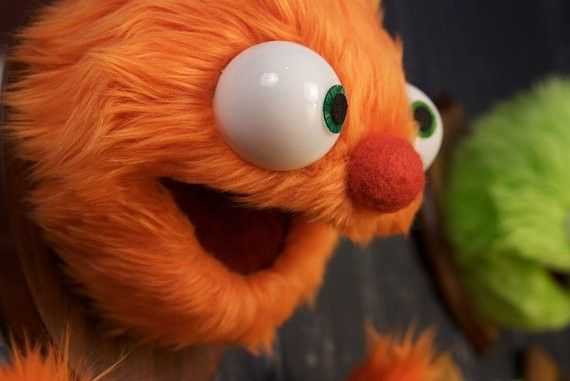 "Mounted puppet taxidermy, A.K.A. ""Murphy"""