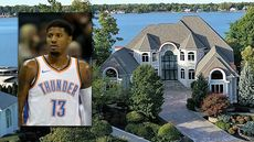 Paul George Looks to Dish His Waterfront Indiana Mansion to a New Owner
