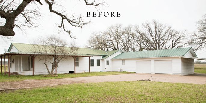 The Eberles Decrepit Ranch House Before Chip And Joanna Gaines Have Their Way With