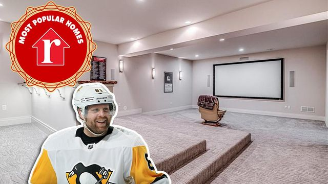 NHL Star Phil Kessel's Weird and Viral Pittsburgh House Is Week's Most Popular Listing