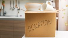Cleaning Out Your Home Goods? Here's Where To Donate Them Right Now