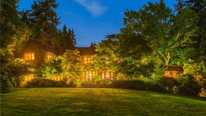 This Well-Manicured $28M Medina Estate Is Washington's Most Expensive Listing