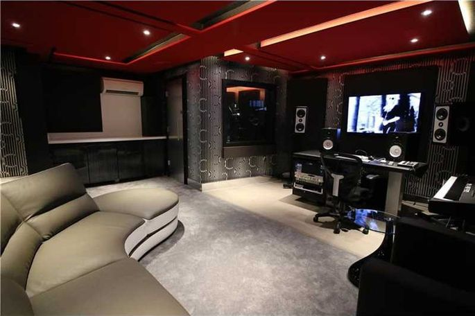 A princely recording studio