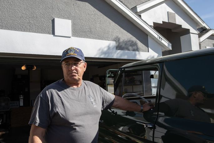 Bob Bentz, a retiree who served in the military, has taken out a 30-year mortgage with his wife on their home in Florida.