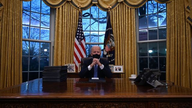 Inside Joe Biden's Oval Office Makeover: Add Moon Rock, Ditch Diet Coke Button, and Other Changes That Say So Much