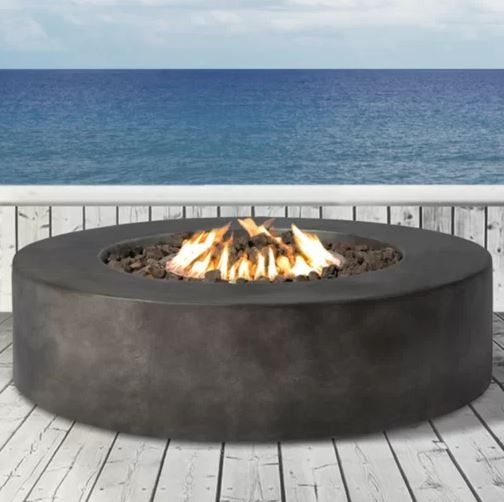 Set your world on fire with a backyard fire pit.